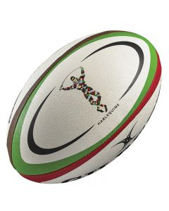 Harlequins Replica Gilbert rugby Ball
