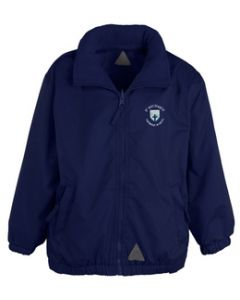 St Michael's Primary Reversible Winter Coat