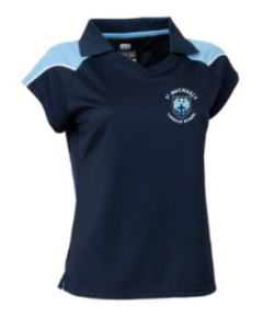 St Michael's Girls Fitted PE Polo