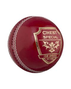 Gray Nicolls Crest Academy Leather Cricket Ball