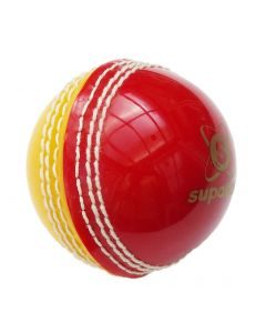 Readers Red/Yellow Supaball Training Cricket Ball